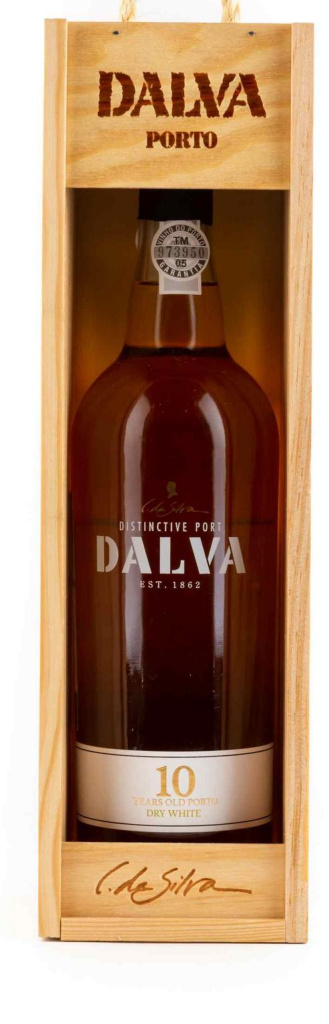 Портвейн Dalva Porto white dry 10 years old C. Da Silva