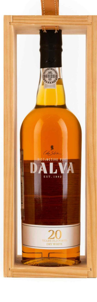Портвейн Dalva Porto white dry 20 years old C. Da Silva